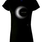 T-Shirt - Cinque La Luna Donna Nera