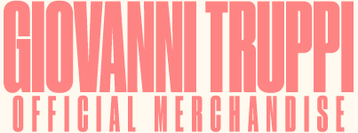 Giovanni Truppi | Official Merchandise